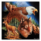 Melissa & Doug King of the Mountain Cardboard Jigsaw puzzle