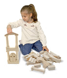 Melissa & Doug Architectural Standard Unit Blocks assembled 1