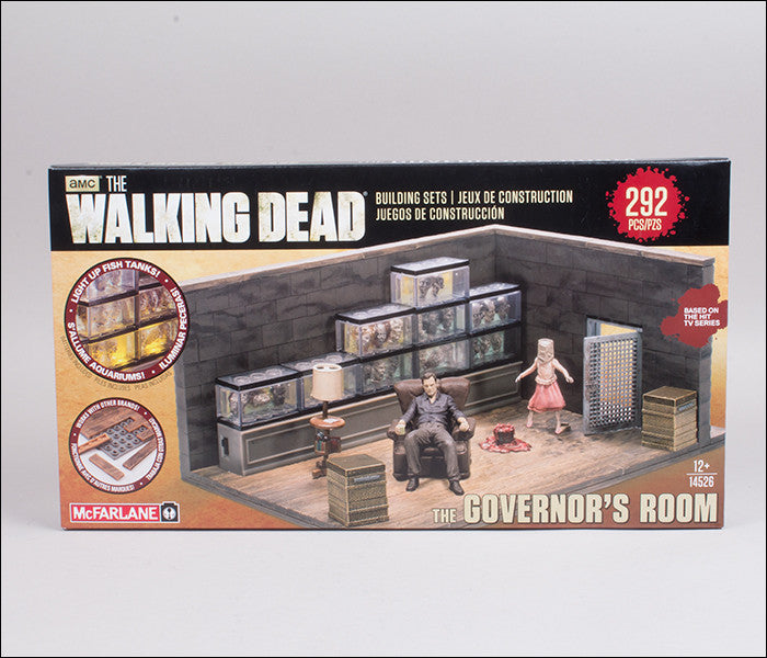 McFarlane Toys Walking Dead The Governor's Room