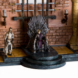 McFarlane Toys Game of Thrones Iron Throne Room Construction Set assembled 2