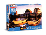 Melissa & Doug Golden Docks Cardboard Jigsaw