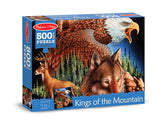 Melissa & Doug King of the Mountain Cardboard Jigsaw