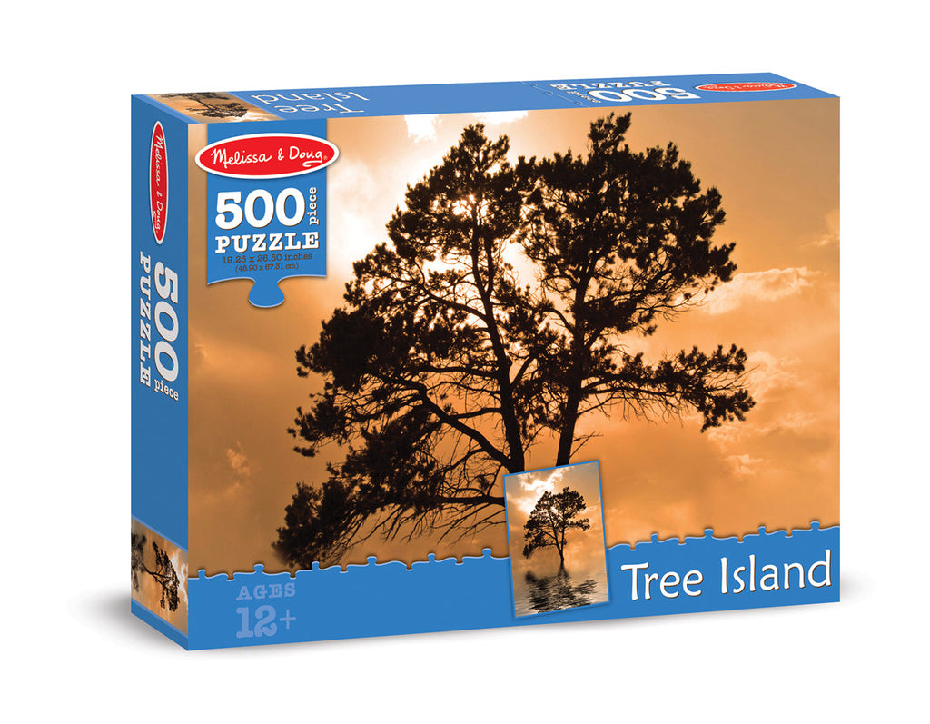 Melissa & Doug Tree Island Cardboard Jigsaw - 500 Pieces