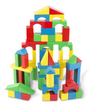 Melissa & Doug 100 Wood Blocks Set assembled 2