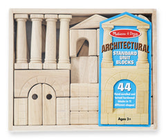 Melissa & Doug Architectural Standard Unit Blocks front