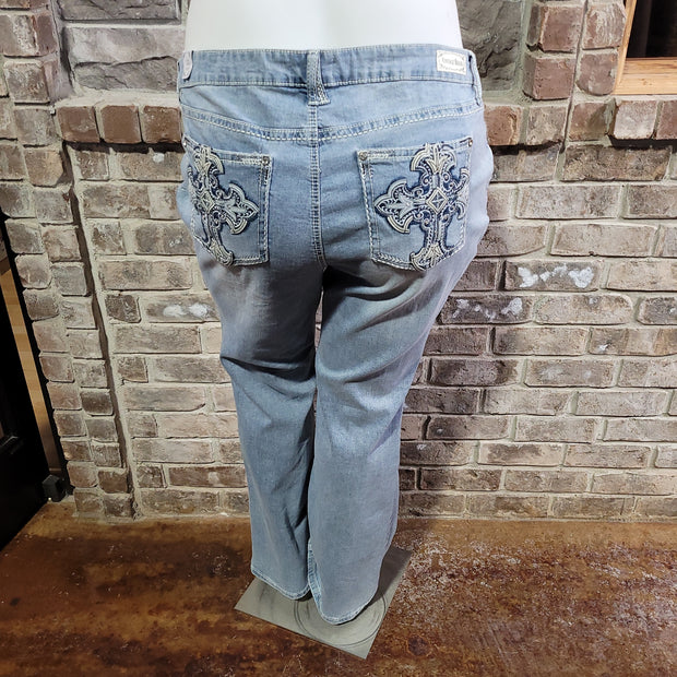 11 {Vintage Bass} Denim Jeans With Pocket Detailing