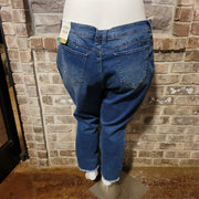 23 {Y.M.I.} Wanna Betta Butt? Holey High Rise Jeans