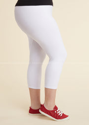 "SQ/45- ""Yelete"" Ivory (92% Poly/8% Spandex) Leggings"