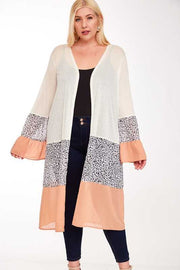 OT-K {Something In The Way You Move} Contrast Cardigan