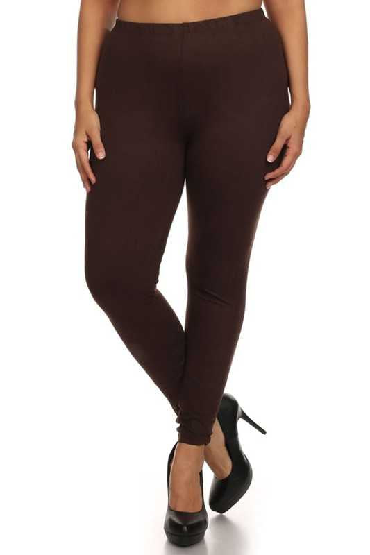 GT/O {Easy Way Out} Brown Leggings Buttery Soft Feel!