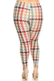 PLS/W {Out Of Your League} Multi Print Leggings