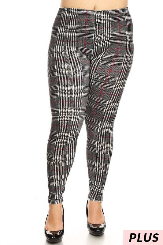 PLS/8 {Have A Good Time} Printed Velour Pants/Leggings