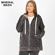 HD-G {Worth The Wait} Charcoal Grey Mineral Wash Hoodie SALE!