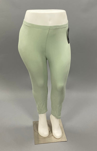 65 {Spring Time} SAGE Butter-Soft LEGGINGS EXTENDED PLUS SIZE 3X/5X