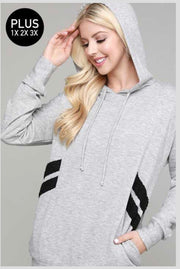 HD-Z {Just So You Know} Gray Hoodie with Black Detail SALE!!