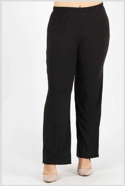GT/M {No Agenda} Black Pants Poly-Spandex Soft Feel