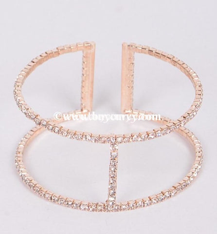 Bce Diamond Rhinestone Bracelet (Stretchy!)