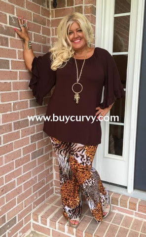 Bt-A Minx Animal Print Bell-Bottom Pants Sale! Bottoms