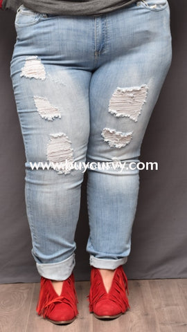 Bt-B Cello Ripped Light Wash Denim Jeans Sale! Bottoms