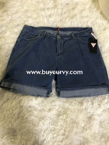 Bt-C Be Girl Denim Shorts With Cuff Sale! Bottoms