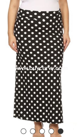 Bt-D {Polka-Dot Delight} Soft & Stretchy Polka-Dot Skirt Bottoms