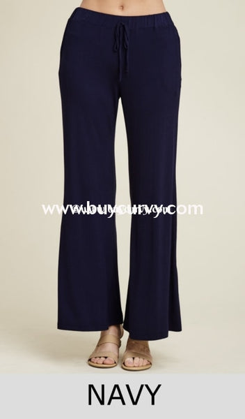 Bt-E Keep A Lookout Navy Wide Leg Palazzo Pants Sale! Bottoms