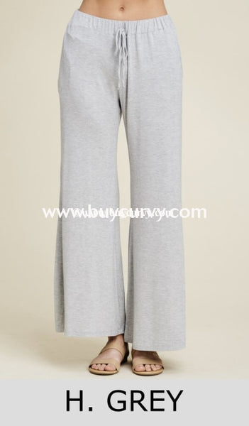 Bt-F Keep A Lookout Gray Wide Leg Palazzo Pants Sale! Bottoms