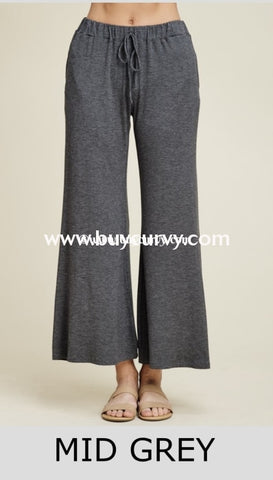 Bt-G Keep A Lookout Charcoal Wide Leg Palazzo Pants Sale! Bottoms