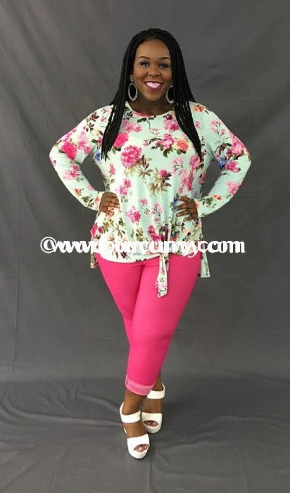 Bt-K Hot Pink Jeggings With Rhinestone Button Sale! Bottoms