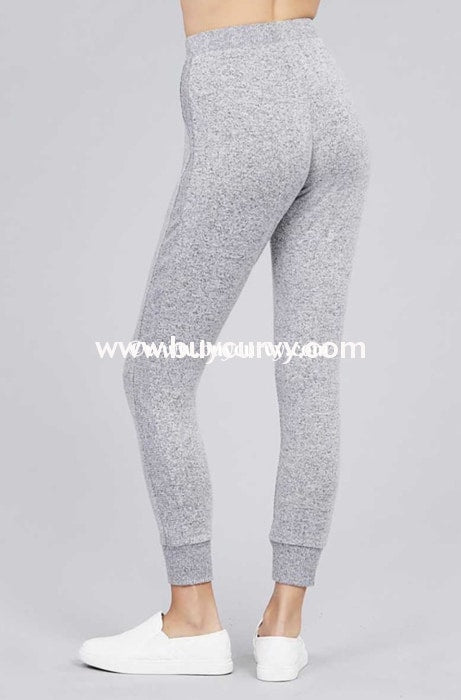 Bt-K {The Best Of Fall} Gray Soft & Stretchy Active Pants Bottoms