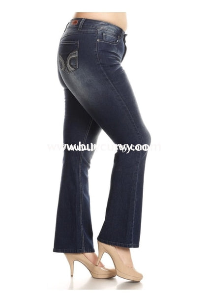 Bt-R {Rhythm & Blues} Jeans With Back Pocket Detail Bottoms