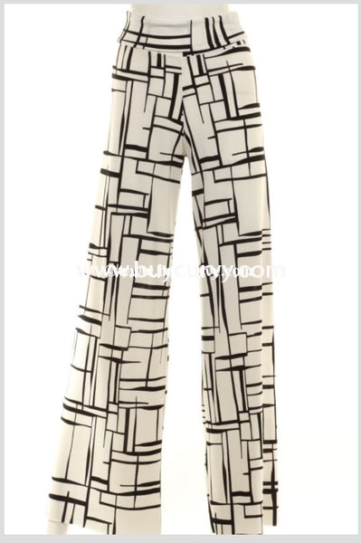 Bt-Y You Decide Ivory Square Palazzo Waistband Sale! Bottoms