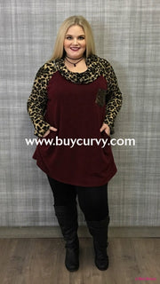 Cp-S Mahogany With Leopard Detail & Sequin Pocket Sale! Contrast