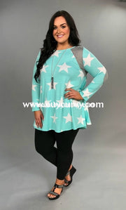 Cp-U Mint/white Stars With Side Pockets Sale!! Contrast