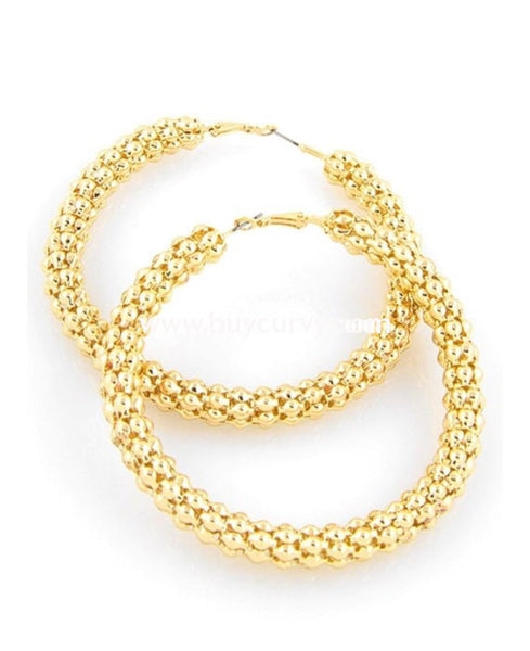 Ear-C Vera Large Gold Hoop Earrings