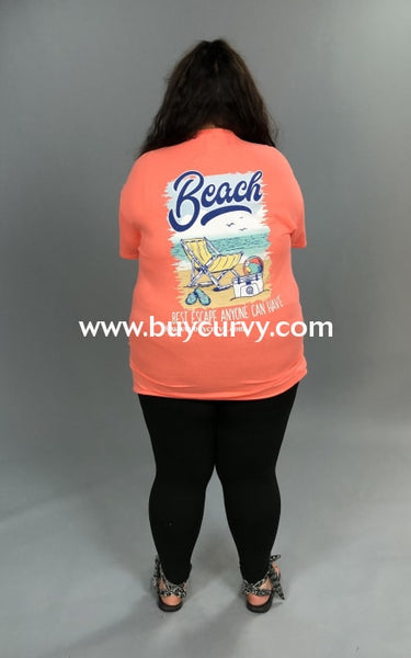 Gt-F Girlie Girl Coral Beach Best Escape Anyone Can Have Sale!! Graphic