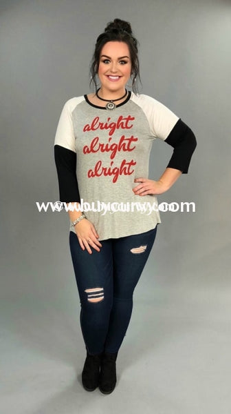 Gt-Q Alright Black Sleeved Sale!! Graphic