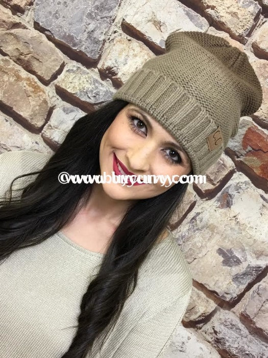 Hat-Ombre Style C.c. Beanie Hats