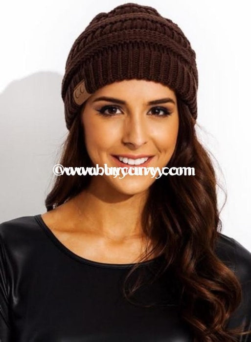 Hat-Original Style C.c. Beanie~ Dark Brown Hats