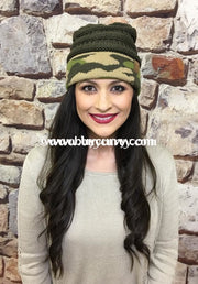Hat-Original Style C.c. Beanie With Camo- Hats
