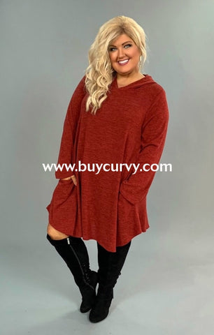 c42d9179301e2 Hd-N  Need To Know  Maroon Knit Hoodie Dress With Pockets Hoodies. Sale