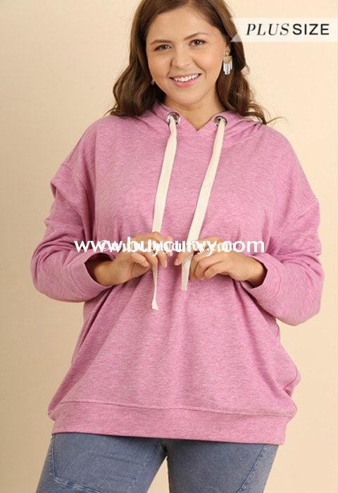 Hd-S Umgee Berry Hoodie With Drawstring Hoodies