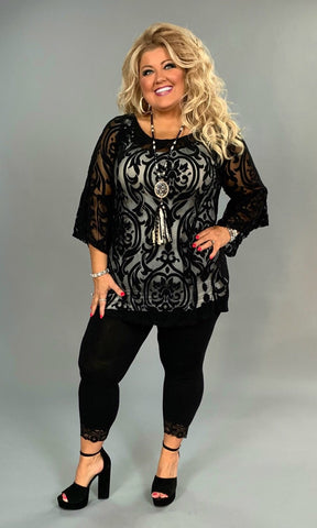 fff9041d040 3/4 LENGTH SLEEVE Solid TOPS, TUNICS, & DRESSES – Curvy Boutique ...