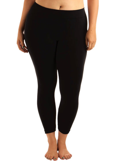 "BT/H ""Design USA"" BLACK Leggings (Soft & Stretchy!) Extended"
