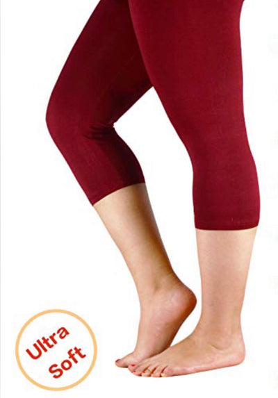"PSS/17- ""Yelete"" Red (92% Poly/8% Spandex) Leggings"
