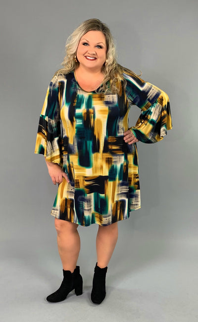 PQ-Q {Light Up My Life} Multi-Print Dress with Pockets