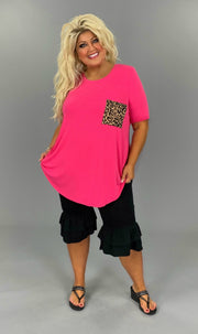 BT-H {Cute As Can Be}Black Double Ruffle Capri Pant Curvy Brand EXTENDED PLUS SIZE 1X 2X 3X 4X 5X 6X