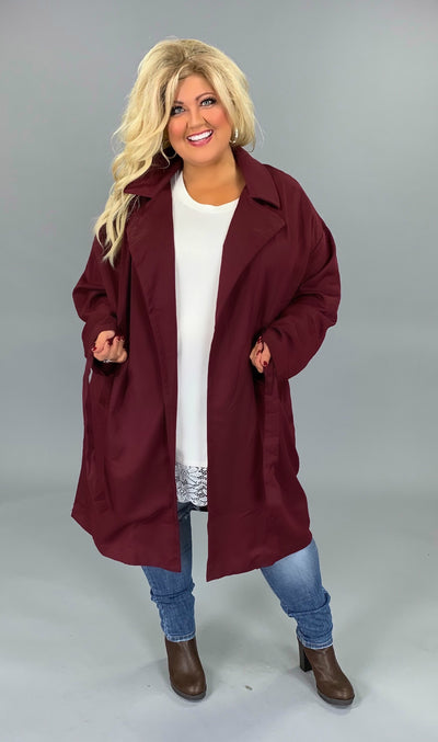 "OT-J {Seize Every Minute} ""UMGEE"" Wine Coat"