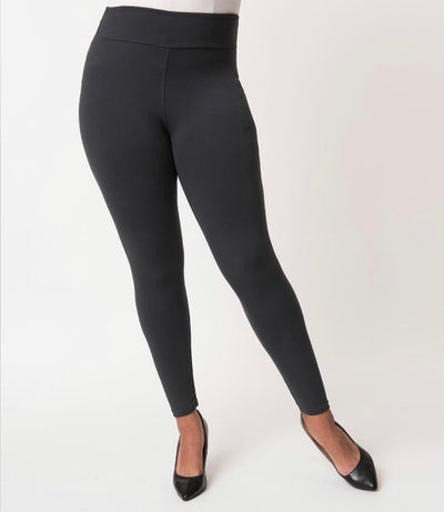 GT/U Fast & Furious Solid Charcoal Leggings