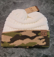 HAT-Original Style C.C. Beanie With Camo-